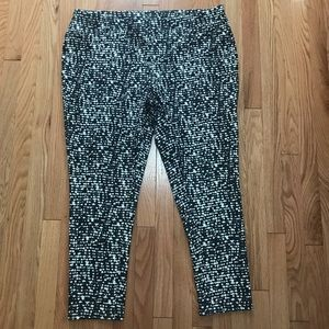 Faded Glory Full Length Printed Knit Jegging